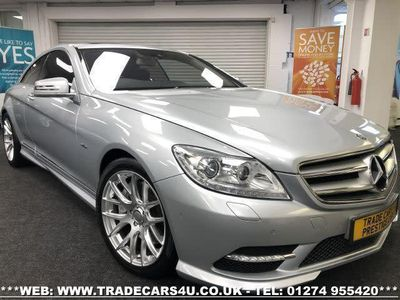 used Mercedes CL500 CL 4.7BLUEEFFICIENCY 2d 435 BHP