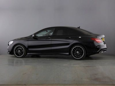used Mercedes CLA220 CLA ClassAMG Line Night Edt 4Matic 4dr Tip Auto Coupe 2019