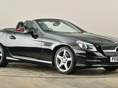 used Mercedes SLK200 BlueEFFICIENCY AMG Sport 2dr Tip Auto Leather Seats 1.8