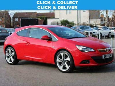 used Vauxhall Astra GTC 1.4i Turbo SRi (start/stop) [20-inch] coupe