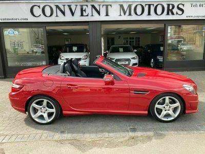 used Mercedes SLK200 SLK 1.8BLUEEFFICIENCY AMG SPORT ED125 2d 184 BHP SATN NAV, GLASS ROOF,