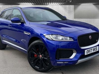 used Jaguar F-Pace 3.0 V6 S SUV 5dr Petrol Auto AWD (s/s) (380 ps)