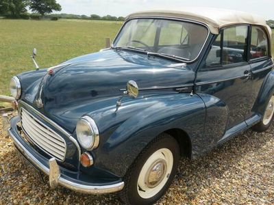 used Morris Minor convertible [ nut and bolt restored] 2-Door