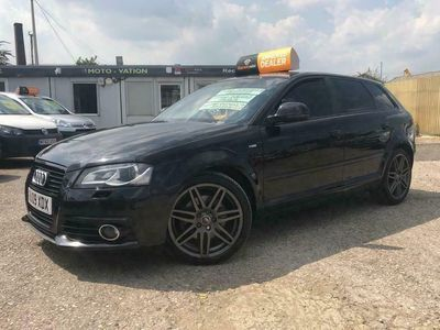 used Audi A3 Sportback 2.0TD Black Edition (170PS) quattro 5d