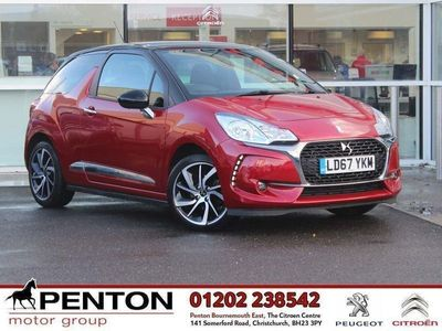 used DS Automobiles DS3 1.2 Puretech 82 Connected Chic 3Dr