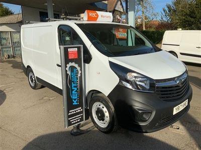 used Vauxhall Vivaro 2700 1.6CDTI 120PS H1 Van
