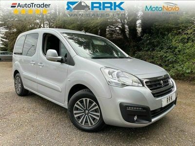 used Peugeot Partner 1.6 HORIZON RE/BLUE HDI S/S TEPEE ALLURE 5d 100 BHP