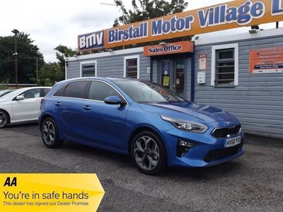used Kia cee'd BLUE EDITION ISG 1.4 5dr
