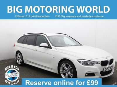 used BMW 318 3 Series D M SPORT TOURING for sale | Big Motoring World