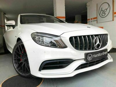 used Mercedes C63 AMG C-Class 4.0AMG Cabriolet 2d