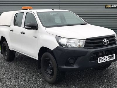 used Toyota HiLux 2.4 D-4D Active Double Cab Pickup 4WD EU6 4dr