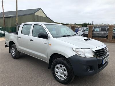 used Toyota HiLux HL2 D/Cab Pick Up 2.5 D-4D 4WD 144 ONLY 43000 MIKES FSH AIR CON