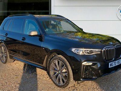 used BMW X7 xDrive M50d 5dr Step Auto