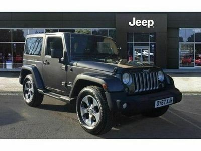 used Jeep Wrangler 2.8 CRD Overland 2dr Auto
