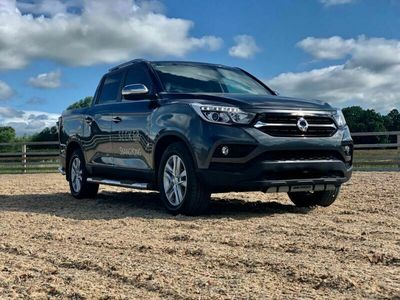 used Ssangyong Musso Brand new SEEKERSTEALTH EDITION Double Cab Pick Up Saracen 4dr AWD 2.2