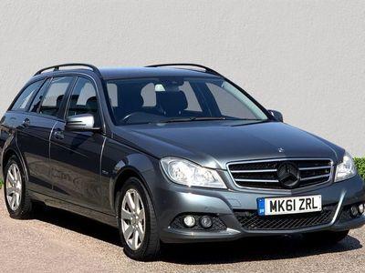 used Mercedes C200 C-CLASS 2.1CDI BLUEEFFICIENCY SE EDITION 125 5d 136 BHP