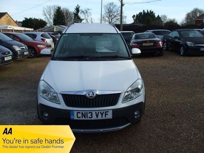 used Skoda Roomster Scout TDI CR 1.6 5dr