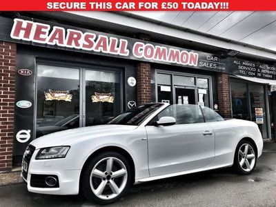 used Audi A5 2.0 TFSI S LINE 2d 208 BHP BLUETOOTH~PARK SENSORS~LEATHER~DAB!