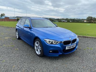 used BMW 320 3 Series 2.0 D XDRIVE M SPORT TOURING ESTATE 2018