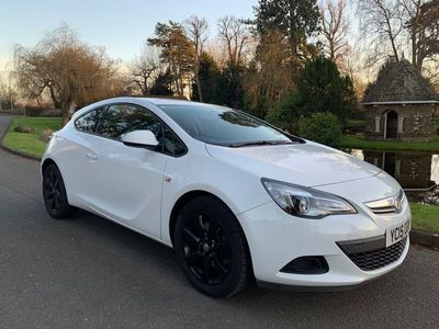 used Vauxhall Astra GTC 1.4i Turbo Sport (s/s) 3dr