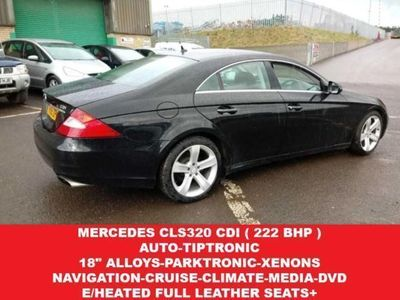 used Mercedes CLS320 CL 3.0CDI (222 BHP) 7G-TRONIC 4DR..NAV..HEATE