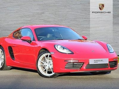 used Porsche Cayman COUPE 2.0 2dr PDK