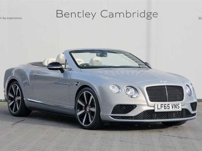 used Bentley Continental GTC 4.0 V8 S Mulliner Driving Spec 2dr Auto