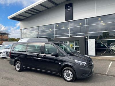 used Mercedes Vito 2.1 114 CDi PRO Tourer G-Tronic RWD L3 EU6 (s/s) 5dr Auto, 2019, not known, 14009 miles.