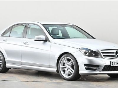 used Mercedes C220 C CLASSCDI BlueEFFICIENCY AMG Sport 4dr Silver Manual Diesel