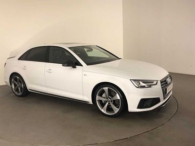 used Audi A4 Black Edition 40 TDI 190 PS S tronic 4dr
