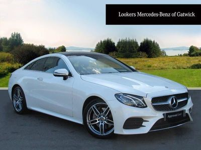 used Mercedes E220 E CLASSAmg Line Premium 2Dr 9G-Tronic diesel coupe