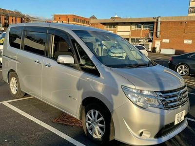 used Nissan Serena 2.0 HYBRID ELECTRIC AUTOMATIC 8 SEATER