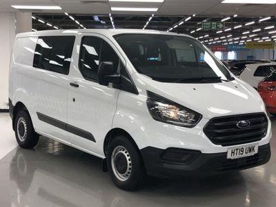 used Ford Custom Transit2.0 Tdci 105Ps Low Roof D/Cab Van