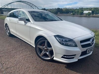 used Mercedes CLS250 CL 2.1CDI BLUEEFFICIENCY AMG SPORT 5d 202 BHP