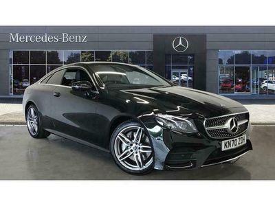 used Mercedes E300 E-ClassAMG Line Premium 2dr 9G-Tronic Petrol Coupe