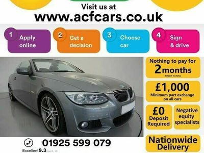used BMW 325 3-Series Convertible d M Sport (2010) 2d Step Auto