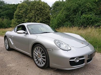 used Porsche Cayman 3.4 S 54k Silver Metropole Leather Sports Seats PCM Sat Nav BOSE Xenons 19 inch Alloys 6 Month Warranty