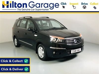 used Ssangyong Rodius Turismo 2.2 SE 5d 176 BHP - Bluetooth