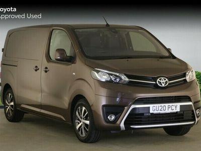 used Toyota Proace 2.0D ( 180hp ) ( Eu6dT-E ) auto 2019MY Design Medium