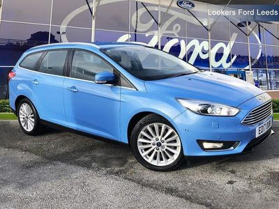 used Ford Focus ESTATE 1.5 EcoBoost 182 Titanium X 5dr Auto