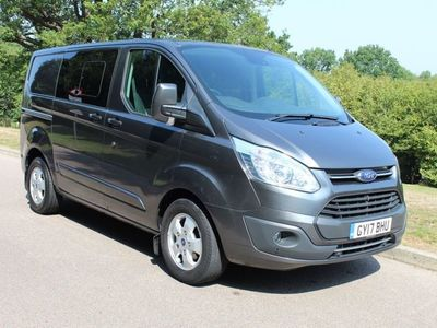 used Ford Custom Transit2.0 TDCi 170ps Low Roof D/Cab Limited Van