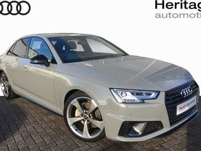 used Audi A4 40 Tdi Black Edition 4Dr S Tronic