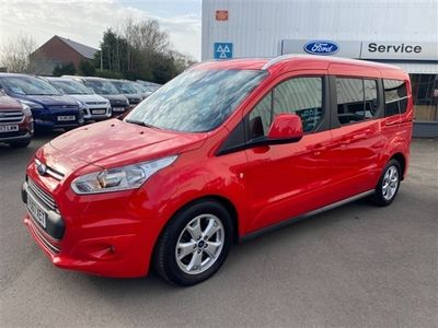used Ford Tourneo Connect GRAND TITANIUM 7 SEATER 1.5 TDCI AUTOMATIC only 14670 miles, 1 owner,