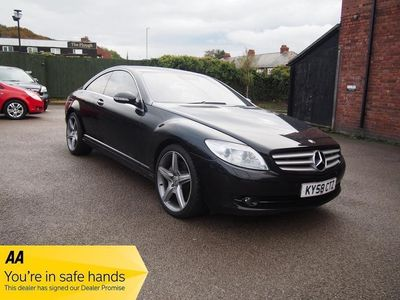 used Mercedes CL500 FULL HISTORY ! 43,844 MILES ! 1 OWNER ! £76 PW & NO