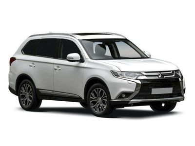 used Mitsubishi Outlander 2.4h TwinMotor 13.8kWh Juro CVT 4WD (s/s) 5dr estate