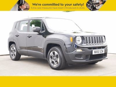 used Jeep Renegade 1.6 E-torQ Sport 5dr Bluetooth