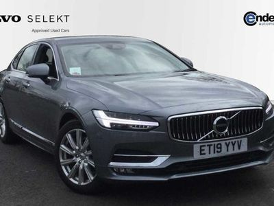 used Volvo S90 2019 (19) D4 Inscription Auto (Adaptive Cruise Control, Leather Seats)