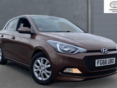 used Hyundai i20 1.2 SE Hatchback 5dr Petrol (84 ps)