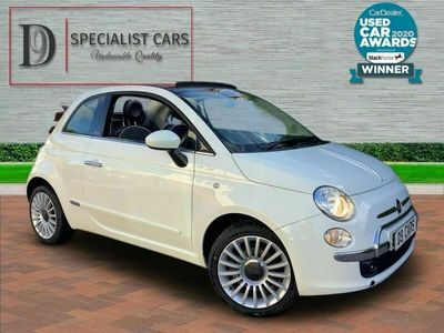 used Fiat 500C 0.9 TWINAIR LOUNGE 3d TURBO F/S/H AIRCON BLUE TOOTH * CLICK & COLLECT OR WE