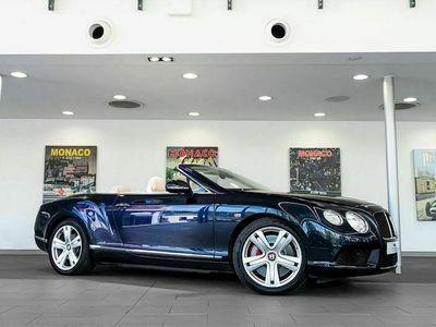 used Bentley Continental 4.0 GTC V8 Convertible 2dr Petrol Auto 4WD (EU5) (507 ps)
